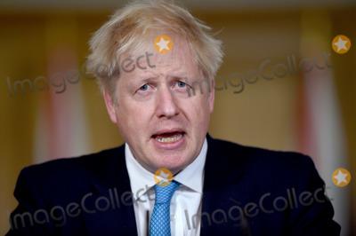 Photo - Boris Johnson Covid Press Conference Downing Street