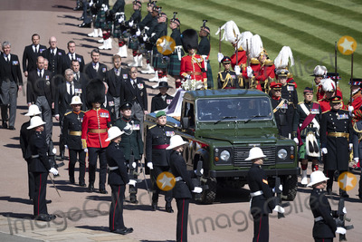 Princess Royal Photo - Photo Must Be Credited Alpha Press 073074 17042021Princess Anne Princess Royal Prince Charles Prince of Wales Prince Andrew Duke of York Prince Edward Earl of Wessex Prince William Duke of Cambridge Peter Phillips Prince Harry Duke of Sussex Lord Viscount Linley Earl of Snowdon David Armstrong-Jones Viscount Lord David Linley and Vice-Admiral Sir Timothy Laurence follow Prince Philip Duke of Edinburghs coffin on a modified Jaguar Land Rover during the funeral of Prince Philip Duke of Edinburgh at St Georges Chapel in Windsor Castle in Windsor Berkshire No UK Rights Until 28 Days from Picture Shot Date AdMedia