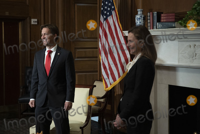 Photos From Amy Coney Barrett Capitol Hill Courtesy Call Ben Sasse
