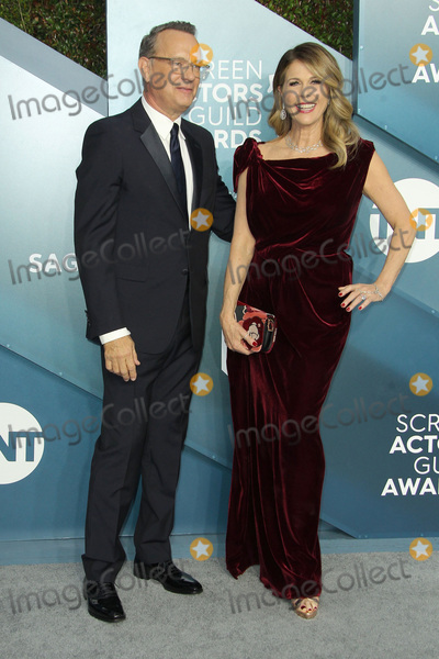 Photo - 19 January 2020 - Los Angeles California - Tom Hanks Rita Wilson 26th Annual Screen Actors Guild Awards held at The Shrine Auditorium Photo Credit AdMedia