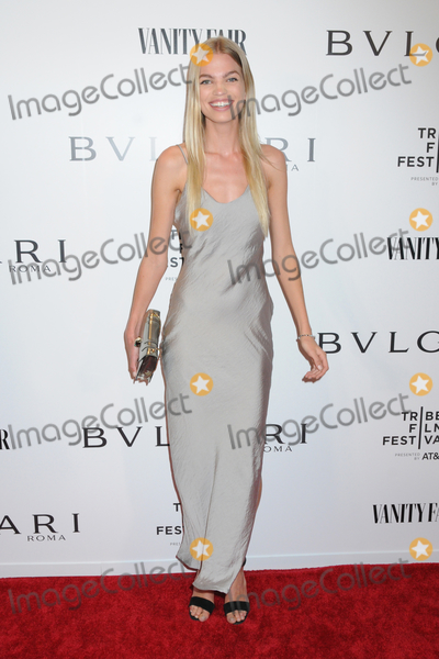 Photo - 23 April 2019 - New York New York - Daphne Groeneveld at BVLGARIs World Premiere of Celestial and The Fourth Wave with Vanity Fair for the 18th Annual Tribeca Film Festival at Spring Studios Photo Credit LJ FotosAdMedia
