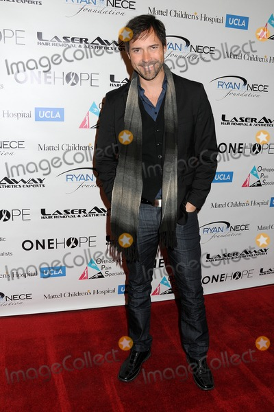 Andrew Bowen Photo - 10 December 2013 - Hollywood California - Andrew Bowen Ryan Neces Power of Giving Holiday Event 2013 held at Aventine Photo Credit Byron PurvisAdMedia