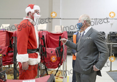 Photo - Prince Charles Visits Royal Mails Delivery Office in Cirencester