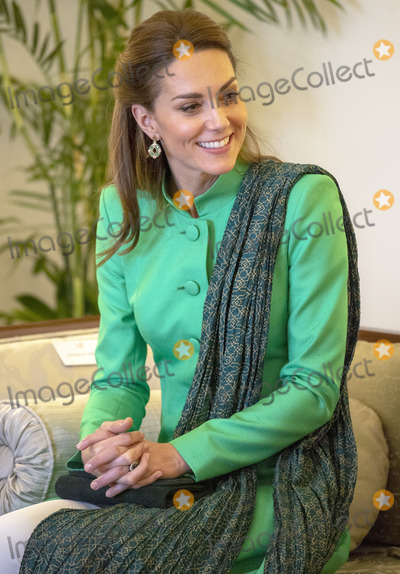 Arif Photo - 15 October 2019 - Islamabad Pakistan - Kate Duchess of Cambridge Catherine Katherine Middleton during a meeting with the President of Pakistan Dr Arif Alvi  at the Presidential Palace Photo Credit ALPRAdMedia