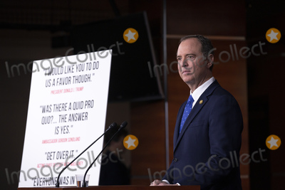 Photos From Adam Schiff Press Conference