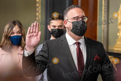 Photos From Miguel Cardona Ceremoniously Sworn in as Secretary of Education