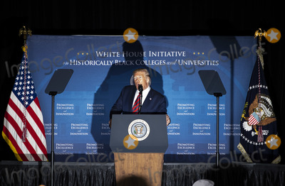 Photos From President Trump speaks at the National HBCU Week Conference