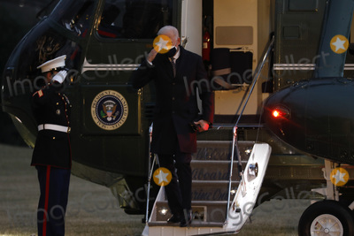 Photo - Biden Returns from Pfizer Factory in Kalamazoo Michigan