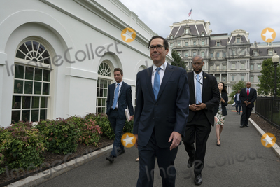 Photos From Steven Mnuchin Speaks to the Press
