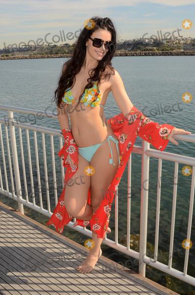 Photo - Natasha Blasick in a tiny bikini on a hot day in Marina Del Rey