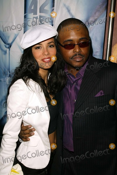 Alex Thomas Photo - Eva Longoria and Alex Thomas at the launch party for the new show The Talent Agency at The Forbidden City Hollywood CA 10-05-03