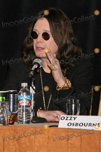 Photo - OZZFEST 2007 Press Conference