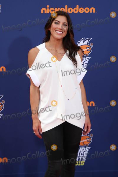 Hope Solo Photo - Hope Soloat the Nickelodeon Kids Choice Sports Awards 2015 UCLAs Pauley Pavilion Westwood CA 07-16-15