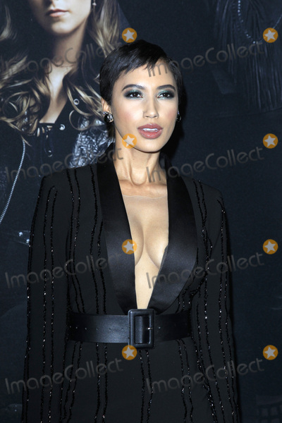 Photo - LOS ANGELES - DEC 12  Andy Allo at the Pitch Perfect 3 Premiere at the Dolby Theater on December 12 2017 in Los Angeles CA