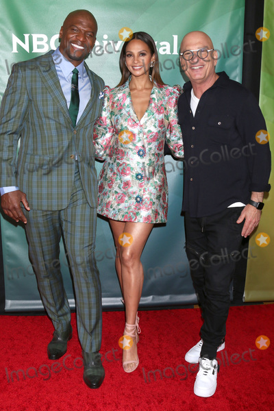 Alesha Dixon Photo - LOS ANGELES - JAN 11  Terry Crews Alesha Dixon and Howie Mandel at the NBCUniversal Winter Press Tour at the Langham Huntington Hotel on January 11 2020 in Pasadena CA