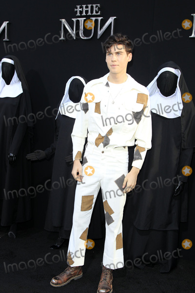 Photo - LOS ANGELES - SEP 4  Aidan Alexander at the The Nun World Premiere at the TCL Chinese Theater IMAX on September 4 2018 in Los Angeles CA