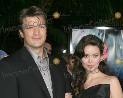 Photo - Nathan Fillion With Summer GlauSerenity PremiereCity WalkUniversal City CASeptember 22 2005