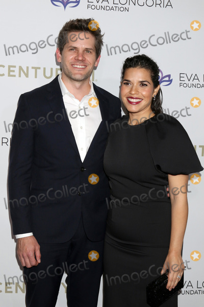Photo - LOS ANGELES - NOV 15  Ryan Piers Williams America Ferrara at the 2019 Eva Longoria Foundation Gala at Four Seasons Los Angeles at Beverly Hills on November 15 2019 in Los Angeles CA