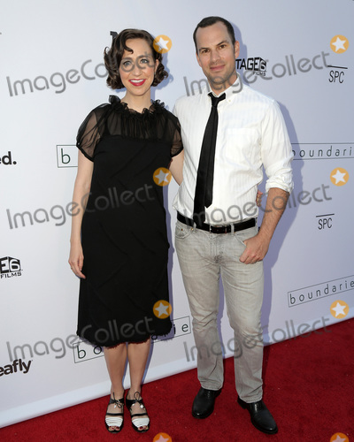 Photo - LOS ANGELES - JUN 19  Kristen Schaal Rich Blomquist at the Boundaries Los Angeles Premiere at the Egyptian Theater on June 19 2018 in Los Angeles CA