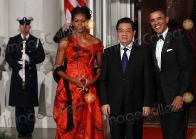 Photo - Obama Hosts Chinese President Hu Jintao For State Visit At White House