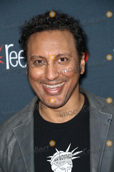 Aasif Mandvi Photo - Photo by John NacionstarmaxinccomSTAR MAXCopyright 2017ALL RIGHTS RESERVEDTelephoneFax (212) 995-119610717Aasif Mandvi at the photocall for Shut Eye during New York Comic Con(NYC)