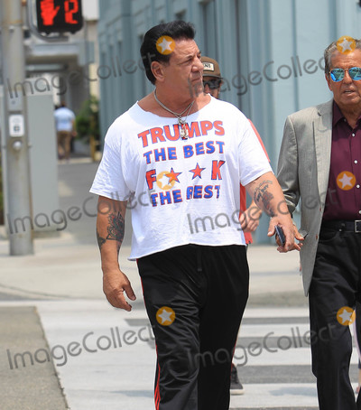 Photos From Chuck Zito is seen in Beverly Hills