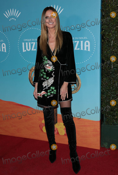 Photos From Heidi Klum at the premiere of 'Luzia'