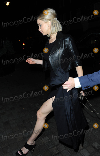 Photo - Photo by KGC-102starmaxinccomSTAR MAXCopyright 2015ALL RIGHTS RESERVEDTelephoneFax (212) 995-1196121715Jennifer Lawrence is seen at the Chiltern Firehouse Restaurant(London England UK)