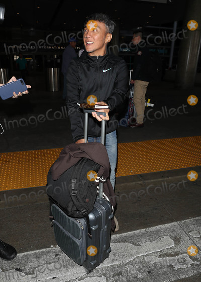 Arnel Pineda Photo - Photo by SMXRFstarmaxinccomSTAR MAX2018ALL RIGHTS RESERVEDTelephoneFax (212) 995-119622618Arnel Pineda is seen at LAX Airport in Los Angeles CA