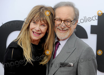 Photo - Photo by Dennis Van TinestarmaxinccomSTAR MAX2017ALL RIGHTS RESERVEDTelephoneFax (212) 995-1196121417Kate Capshaw and Steven Spielberg at the premiere of The Post in Washington DC