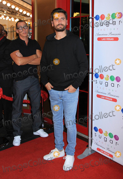 Photo - Scott Disick at the grand opening celebration monthof The Sugar Factory