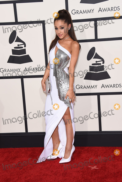 Photo - Photo by KGC-11starmaxinccomSTAR MAX2015ALL RIGHTS RESERVEDTelephoneFax (212) 995-11962815Ariana Grande at the 57th Grammy Awards(Los Angeles CA)
