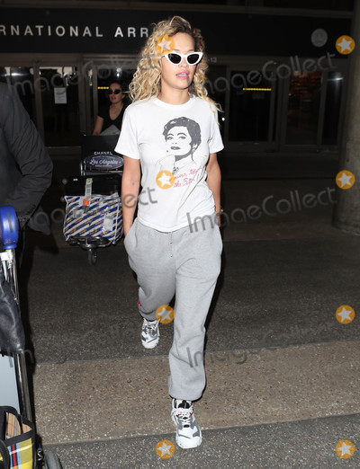 Photos From Rita Ora is seen at LAX Airport