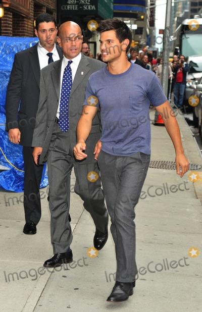 Photo - Taylor Lautner Letterman