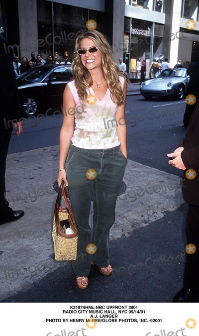 AJ Langer Photo - nbc Upfront 2001 Radio City Music Hall NYC 051401 Aj Langer Photo by Henry McgeeGlobe Photos Inc