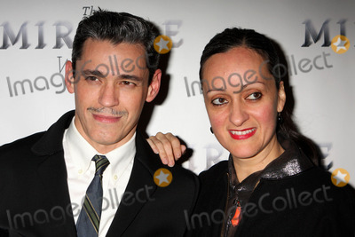 Ruben Toledo Photo - Isabel Toledo and Her Husband Ruben Toledo Arriving at the Opening Night Performance of the Miracle Worker at Circle in the Square Theatre in New York City on 03-03-2010 Photo by Henry Mcgee-Globe Photos Inc 2010