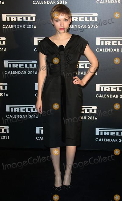 Annie Leibovitz Photo - November 30 2015 - Tavi Gevinson attending Gala Evening To Celebrate The Pirelli Calendar 2016 By Annie Leibovitz at The Roundhouse in Camden London UK