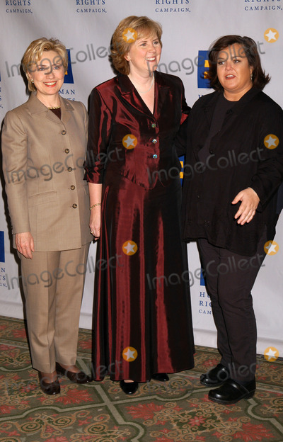 Cheryl Jacques Photo - Sentator Hillary Rodham Clinton HRC Executive Director Cheryl Jacques and Rosie ODonnell at the Human Rights Campaign Gala 2004 at the Waldorf-Astoria Hotel in New York City February 07 2004