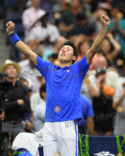Andy Murray Photo - September 7 2016 New york CityKei Nishikori of Japan plays Andy Murray of Great Britain during their Mens Singles Quarterfinal match on Day Ten of the 2016 US Open at the USTA Billie Jean King National Tennis Center on September 7 2016 in New York CityBy Line SolarACE PicturesACE Pictures IncTel 6467670430