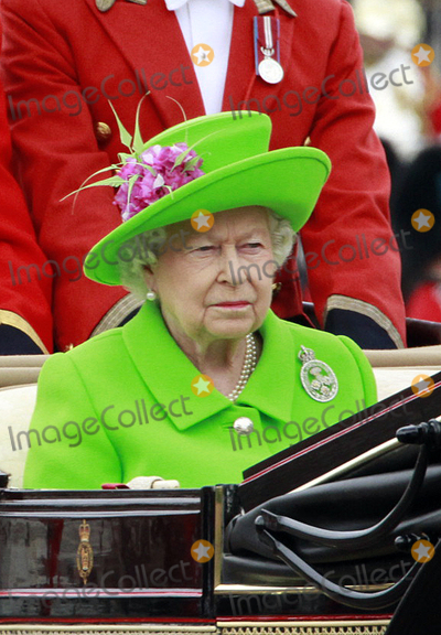 Photo - June 11 2016 LondonHer Majesty Queen Elizabeth attends the trooping of the colour during her 90th Birthday celebrations on June 11 2016 in LondonBy Line FamousACE PicturesACE Pictures Inctel 646 769 0430wwwacepixscoCm