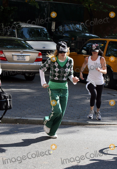 Photos From MADONNA RUNNING IN CENTRAL PARK