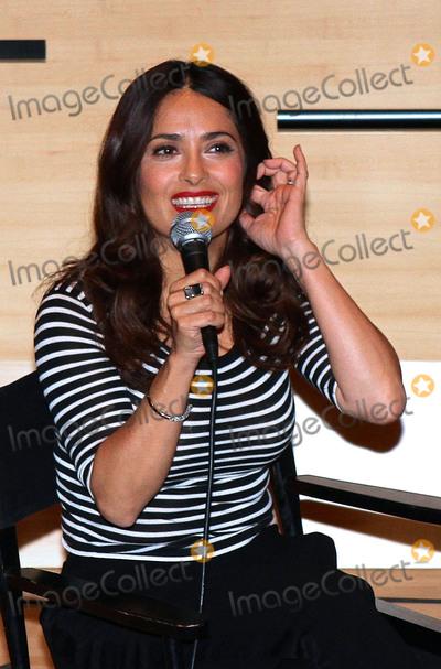 Photos From Salma Hayek at Lincoln Center 080515