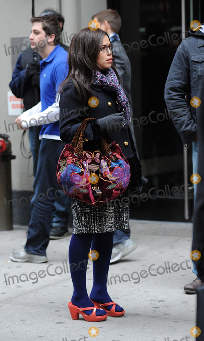 Photos From UGLY BETTY SET