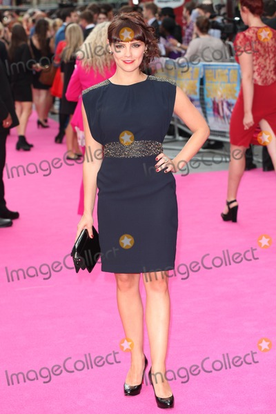 Annabel Scholey Photo - Annabel Scholey arriving for the Walking On Sunshine UK Premiere at Vue West End London 11062014 Picture by Alexandra Glen  Featureflash