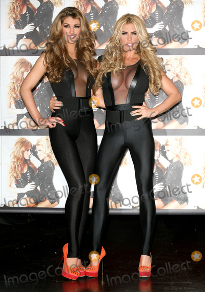 Photo - Amy Willerton and Katie Price Photocall