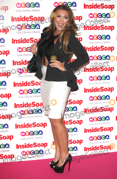 Ministry Photo - Lauren Goodger arriving for the 2013 Inside Soap Awards at the Ministry Of Sound London 21102013 Picture by Alexandra Glen  Featureflash