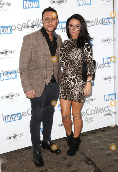 Antony Costa Photo - Antony Costa Rosanna Jasmin attending the Now Magazine Christmas Party at the Drury Club - ArrivalsLondon 25112014 Picture by James Smith  Featureflash