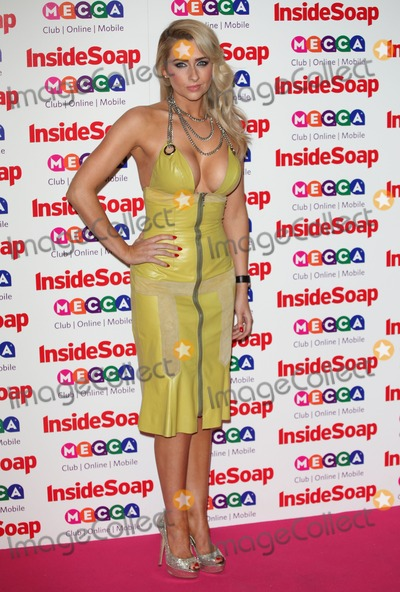 Ministry Photo - Gemma Merna arriving for the 2013 Inside Soap Awards at the Ministry Of Sound London 21102013 Picture by Alexandra Glen  Featureflash