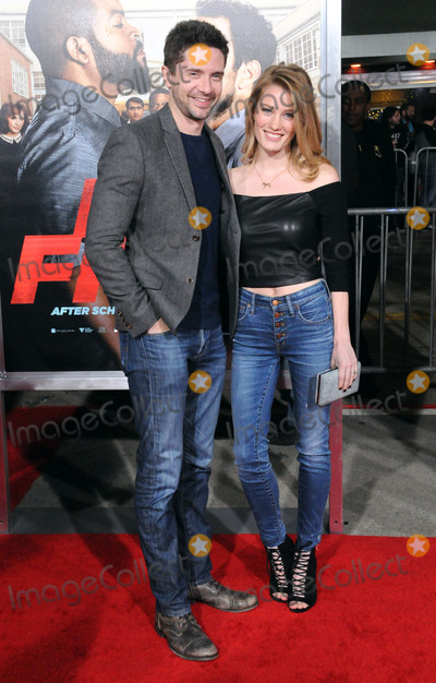 Ashley Hinshaw Photo - LOS ANGELES - FEBRUARY 13 (L-R) Actor Topher Grace and actress Ashley Hinshaw attend the world premiere of Fist Fight at Regency Village Theatre on February 13 2017 in Los Angeles California  (Photo by Barry KingImageCollectcom)