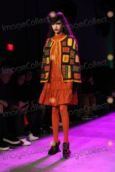 Anna Sui Photo - February 10 2020 New York New York USA Anna Sui FW 2020 Fashion ShowSpring Studios NYCFebruary 10 2020Photos by     Photos Inc (Credit Image  Sonia MoskowitzGlobe Photos via ZUMA Wire)